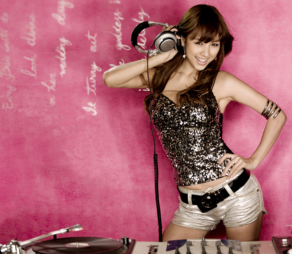 Lee Hyori, korean girl DJ