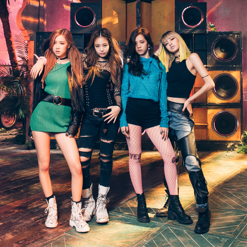 BLACKPINK k-pop group N190703185104